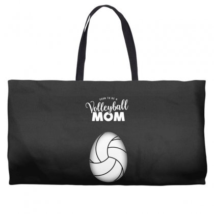 Soon To Be A Volleyball Mom Egg Weekender Totes Designed By Honeysuckle