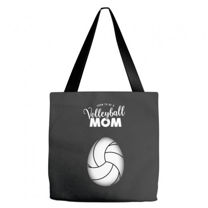 Soon To Be A Volleyball Mom Egg Tote Bags Designed By Honeysuckle