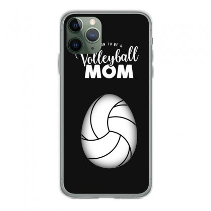 Soon To Be A Volleyball Mom Egg Iphone 11 Pro Case Designed By Honeysuckle