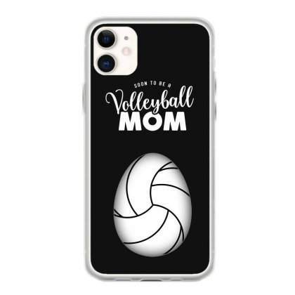Soon To Be A Volleyball Mom Egg Iphone 11 Case Designed By Honeysuckle