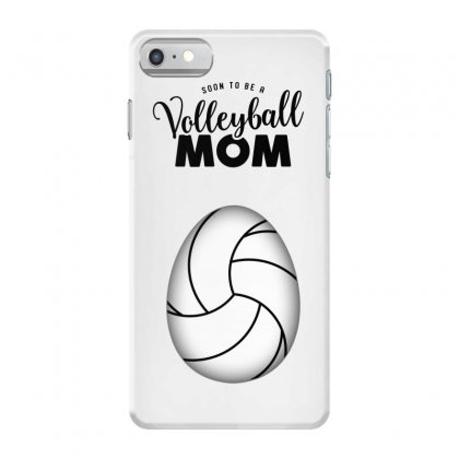Soon To Be A Volleyball Mom Egg Iphone 7 Case Designed By Honeysuckle