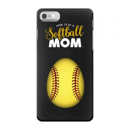 Soon To Be A Softball Mom Egg Iphone 7 Case Designed By Honeysuckle