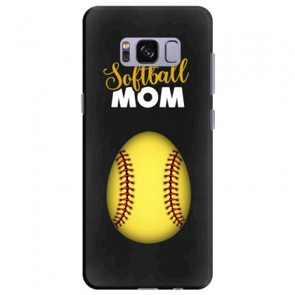 Soon To Be A Softball Mom Egg Samsung Galaxy S8 Plus Case Designed By Honeysuckle