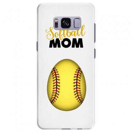 Soon To Be A Softball Mom Samsung Galaxy S8 Plus Case Designed By Honeysuckle