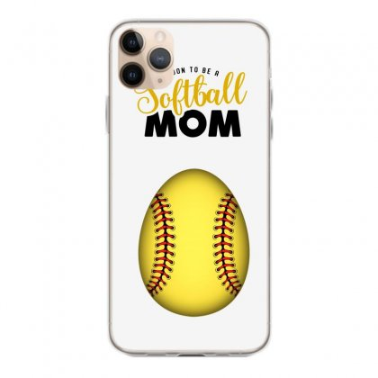 Soon To Be A Softball Mom Iphone 11 Pro Max Case Designed By Honeysuckle