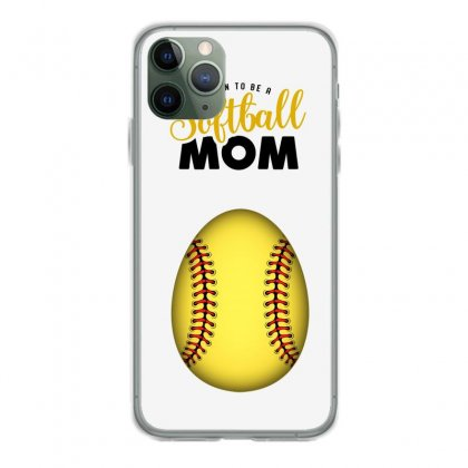 Soon To Be A Softball Mom Iphone 11 Pro Case Designed By Honeysuckle