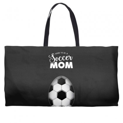 Soon To Be A Soccer Mom Weekender Totes Designed By Honeysuckle