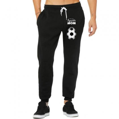 Soon To Be A Soccer Mom Unisex Jogger Designed By Honeysuckle
