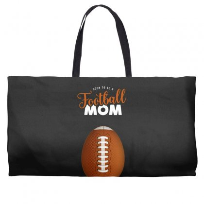 Soon To Be A Football Mom Weekender Totes Designed By Honeysuckle