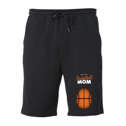 Soon To Be A Basketball Mom Fleece Short Designed By Honeysuckle