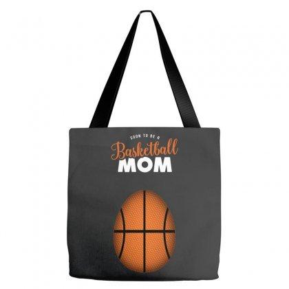 Soon To Be A Basketball Mom Tote Bags Designed By Honeysuckle