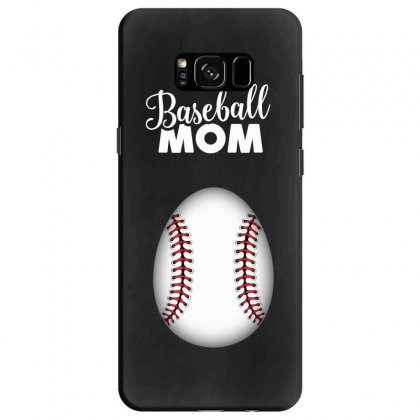 Soon To Be A Baseball Mom Samsung Galaxy S8 Case Designed By Honeysuckle