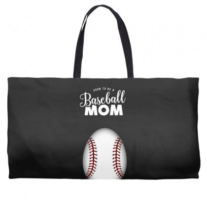 Soon To Be A Baseball Mom Weekender Totes Designed By Honeysuckle