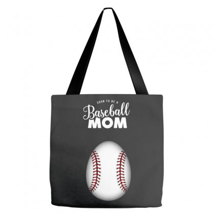 Soon To Be A Baseball Mom Tote Bags Designed By Honeysuckle