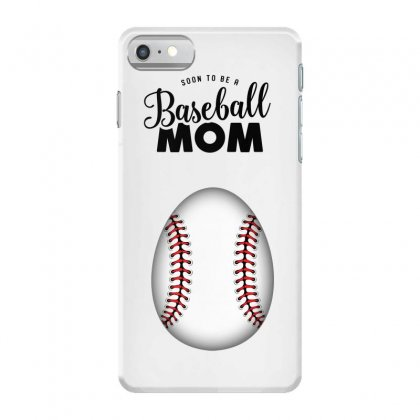Soon To Be A Baseball Mom Iphone 7 Case Designed By Honeysuckle