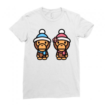 Baby Milo Ladies Fitted T-shirt Designed By Honeysuckle