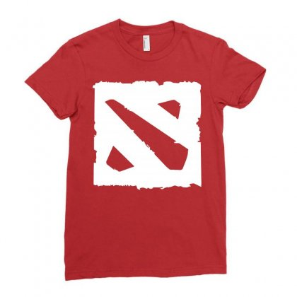 Dota D Ladies Fitted T-shirt Designed By Butterfly99