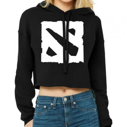 Dota D Cropped Hoodie Designed By Butterfly99