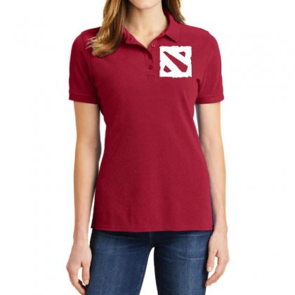 Dota D Ladies Polo Shirt Designed By Butterfly99