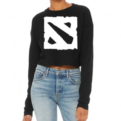 Dota D Cropped Sweater Designed By Butterfly99