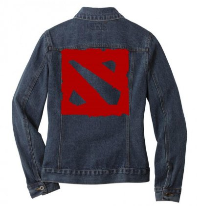 Dota Ladies Denim Jacket Designed By Butterfly99