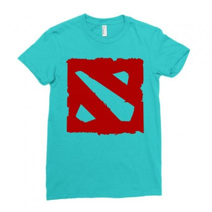 Dota Ladies Fitted T-shirt Designed By Butterfly99