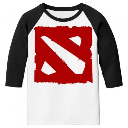 Dota Youth 3/4 Sleeve Designed By Butterfly99