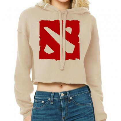 Dota Cropped Hoodie Designed By Butterfly99
