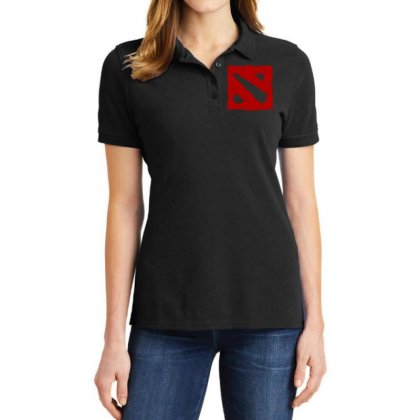Dota Ladies Polo Shirt Designed By Butterfly99