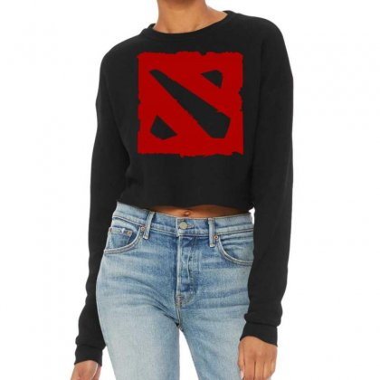 Dota Cropped Sweater Designed By Butterfly99