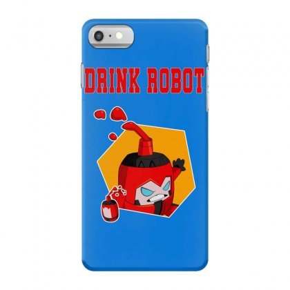 Drink Robot Iphone 7 Case Designed By Butterfly99
