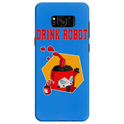 Drink Robot Samsung Galaxy S8 Case Designed By Butterfly99