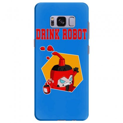 Drink Robot Samsung Galaxy S8 Plus Case Designed By Butterfly99