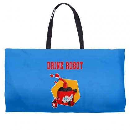 Drink Robot Weekender Totes Designed By Butterfly99