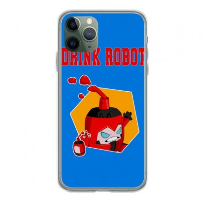 Drink Robot Iphone 11 Pro Case Designed By Butterfly99
