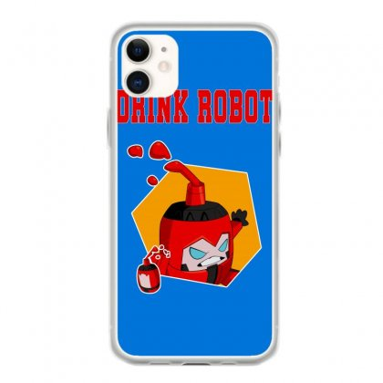 Drink Robot Iphone 11 Case Designed By Butterfly99