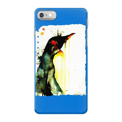 Emperor Penguin Art Iphone 7 Case Designed By Butterfly99
