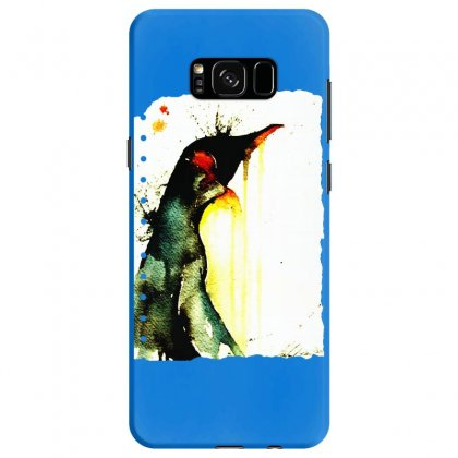 Emperor Penguin Art Samsung Galaxy S8 Case Designed By Butterfly99