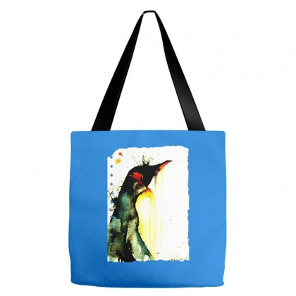 Emperor Penguin Art Tote Bags Designed By Butterfly99