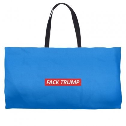 Fack Trump Weekender Totes Designed By Butterfly99