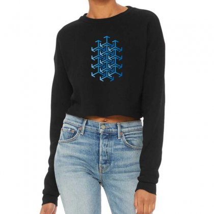 Arabesque Cropped Sweater Designed By Hamza Elb