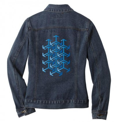 Arabesque Ladies Denim Jacket Designed By Hamza Elb