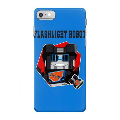 Flashlight Robot Iphone 7 Case Designed By Butterfly99