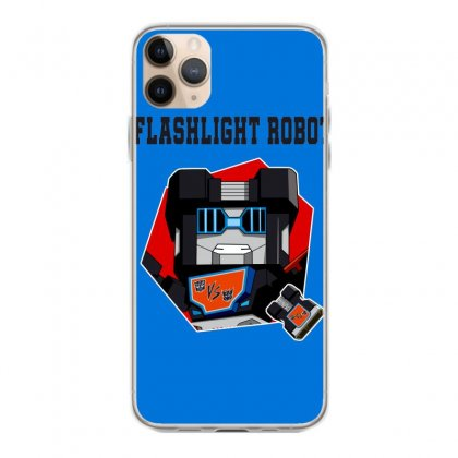 Flashlight Robot Iphone 11 Pro Max Case Designed By Butterfly99