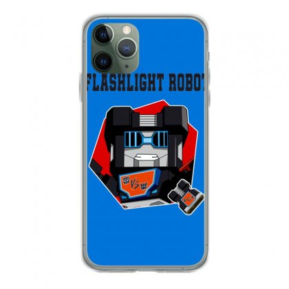 Flashlight Robot Iphone 11 Pro Case Designed By Butterfly99
