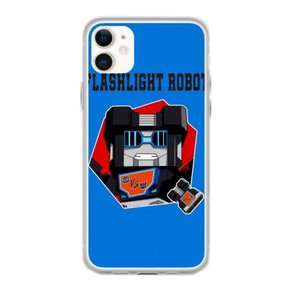 Flashlight Robot Iphone 11 Case Designed By Butterfly99