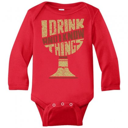 Game Of Tronnes Long Sleeve Baby Bodysuit Designed By Butterfly99