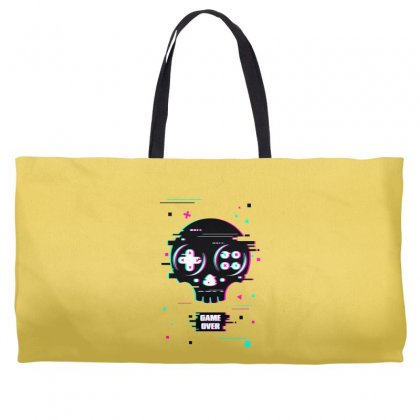 Game Over Time Weekender Totes Designed By Butterfly99