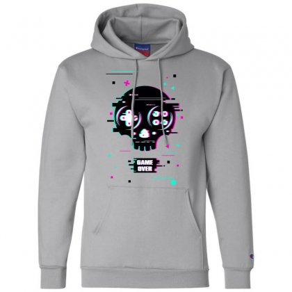 Game Over Time Champion Hoodie Designed By Butterfly99