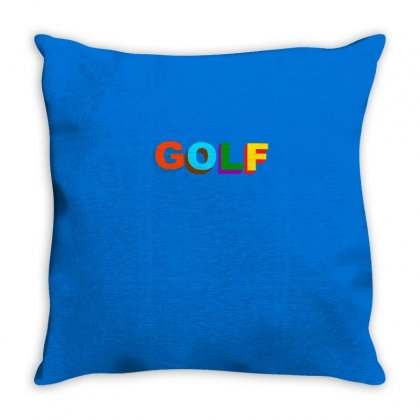 Golf Wang Throw Pillow Designed By Butterfly99